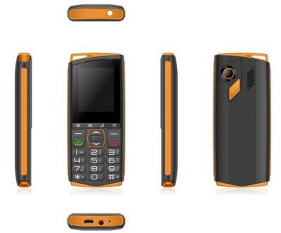 Мобильный телефон Sigma Comfort 50 Mini4 black-orange 3