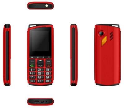 Мобильный телефон Sigma Comfort 50 Mini4 red-black 3