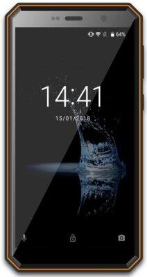 Смартфон Sigma X-treme PQ52 black-orange 1
