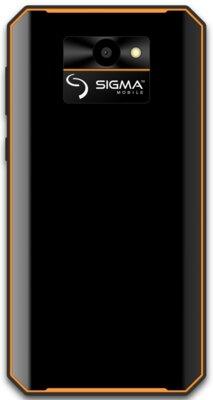 Смартфон Sigma X-treme PQ52 black-orange 2