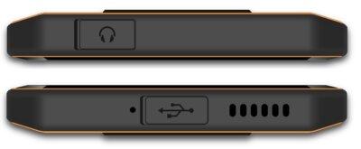 Смартфон Sigma X-treme PQ52 black-orange 4