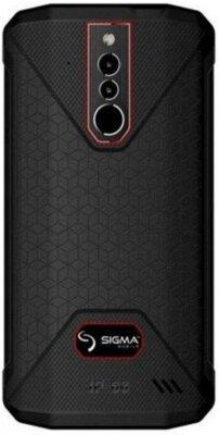 Смартфон Sigma X-treme PQ51 black-red 2