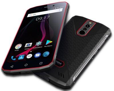 Смартфон Sigma X-treme PQ51 black-red 8