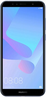 Смартфон Huawei Y6 2018 Blue 1