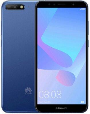 Смартфон Huawei Y6 2018 Blue 2