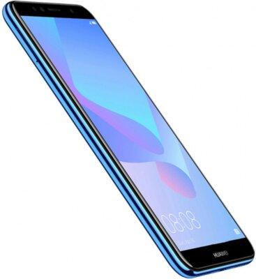 Смартфон Huawei Y6 2018 Blue 5
