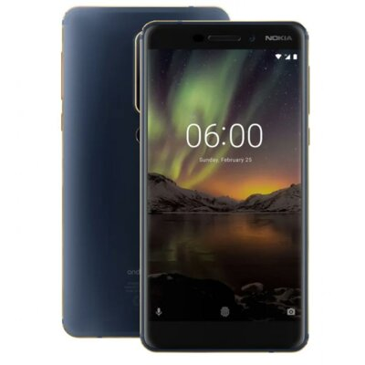 Смартфон Nokia 6.1 DS 4/64Gb Blue 3
