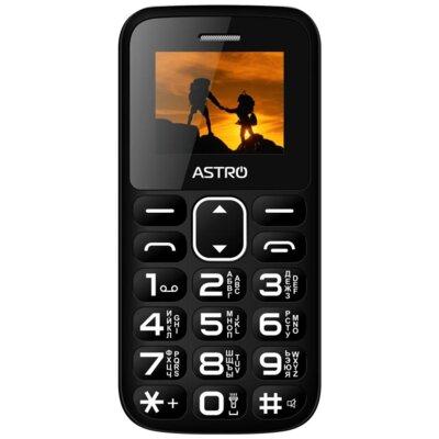 Мобільний телефон ASTRO A185 Black 1