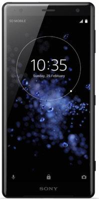 Смартфон Sony Xperia XZ2 H8266 Liquid Black 1