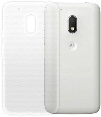 Чехол GlobalCase Extra Slim для Motorola Moto G4 Play (TPU, светлый) 1