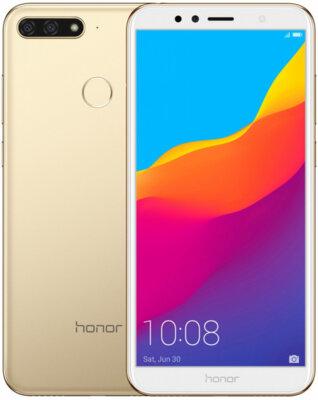 Смартфон Honor 7C 3/32GB Gold 4