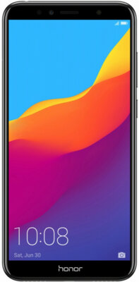 Смартфон Honor 7C 3/32GB Black 1
