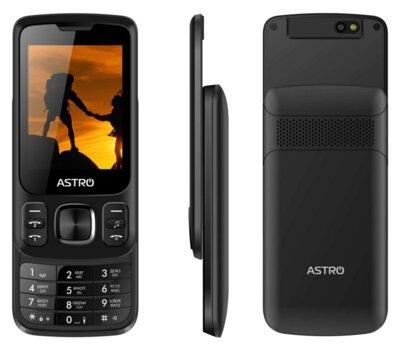 Мобільний телефон ASTRO A225 Black 4