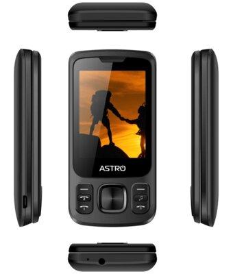 Мобільний телефон ASTRO A225 Black 5