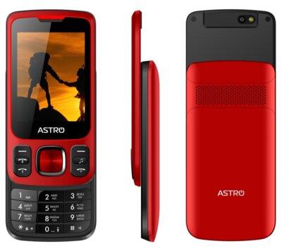 Мобильный телефон ASTRO A225 Red 4
