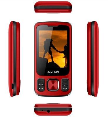 Мобильный телефон ASTRO A225 Red 5
