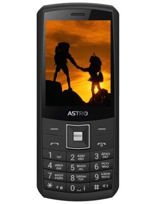 Мобильный телефон ASTRO A184 Black 1