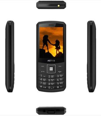 Мобильный телефон ASTRO A184 Black 3