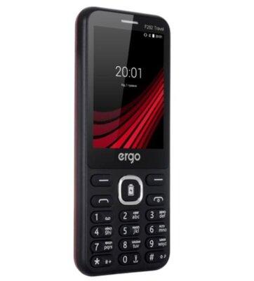 Мобильный телефон ERGO F282 Travel Dual Sim Black 3