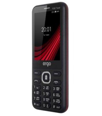 Мобильный телефон ERGO F282 Travel Dual Sim Black 4