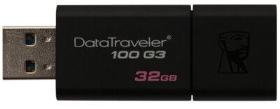 Накопичувач KINGSTON DT 100 G3 32Gb USB 3-0 Black 2