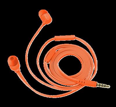 Навушники TRUST Duga Neon Orange 2