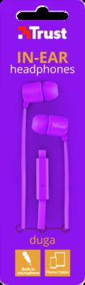 Навушники TRUST Duga Neon Purple 4