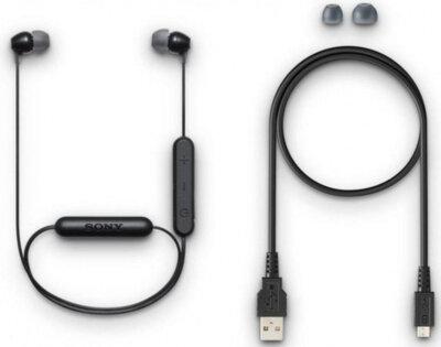 Навушники SONY WI-C300 Black 8