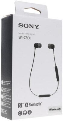 Навушники SONY WI-C300 Black 12