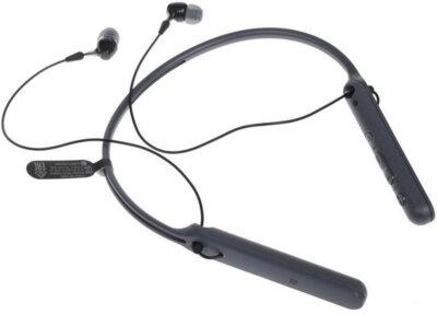Наушники SONY WI-C400 Black 6