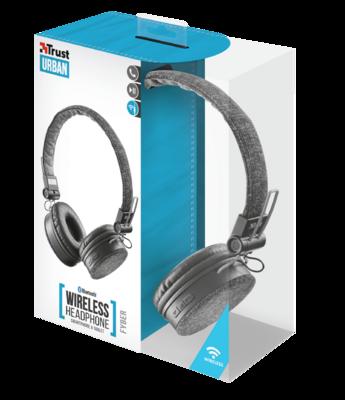 Наушники TRUST Urban Fyber Bluetooth Wireless 5