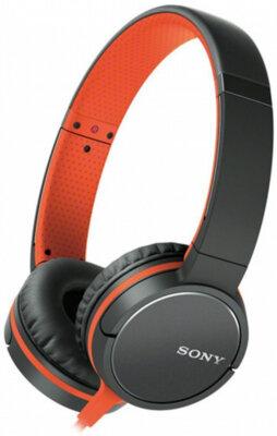 Наушники SONY MDR-ZX660AP Orange 1