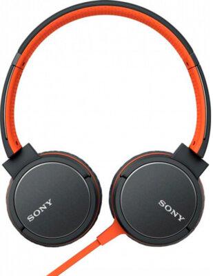 Наушники SONY MDR-ZX660AP Orange 2