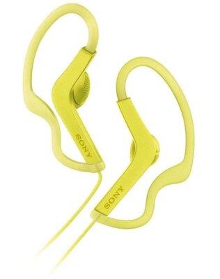 Навушники SONY MDR-AS210AP Yellow 1