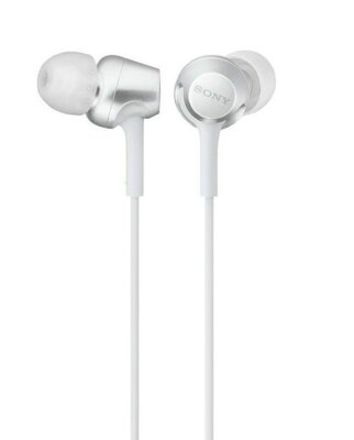 Навушники SONY MDR-EX255AP White 1