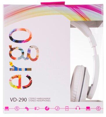 Наушники ERGO VD-290 White 4