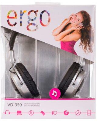 Наушники ERGO VD-350 Black 6