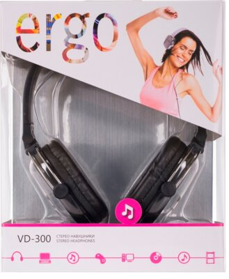 Наушники ERGO VD-300 Black 4