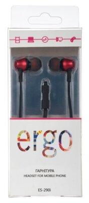Наушники ERGO ES-290i Red 3