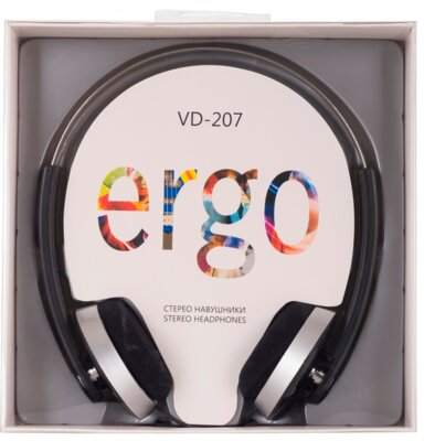 Наушники ERGO VD-207 Black 4