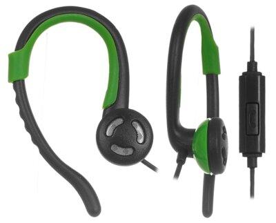 Наушники ERGO VS-300 Green 1