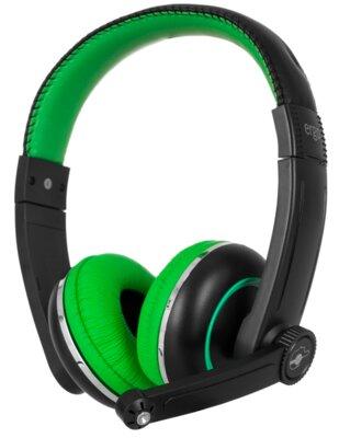 Наушники ERGO VM-280 Green 1