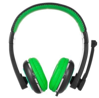 Наушники ERGO VM-280 Green 2