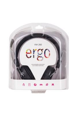 Навушники ERGO VM-260 Black 2