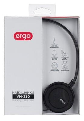 Наушники ERGO VM-330 Black 5