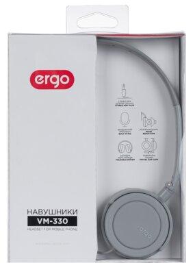 Наушники ERGO VM-330 Grey 5