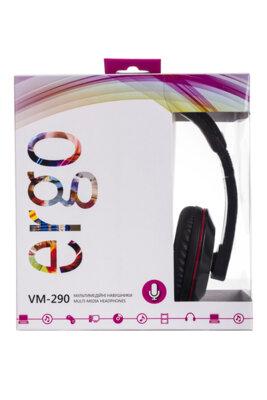 Навушники ERGO VM-290 Black 2