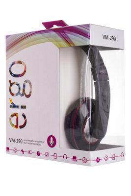 Навушники ERGO VM-290 Black 3