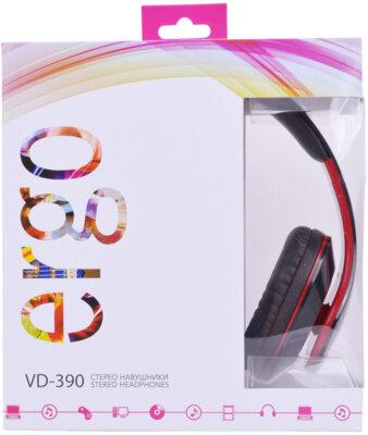 Наушники ERGO VD-390 Red 4