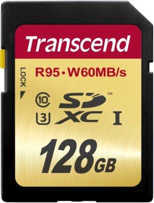 Карта пам'яті Transcend SDXC 128GB Class 10 UHS-I U3 Ultimate 1